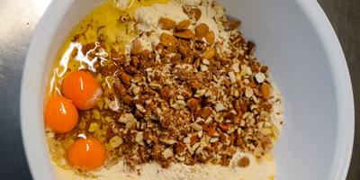 Sbrisolona Eccellenze di Prix ingredienti mandorle farina uova zucchero